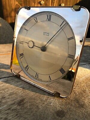 Smiths Clock Art Deco 30 Hr Wind Up Mirror