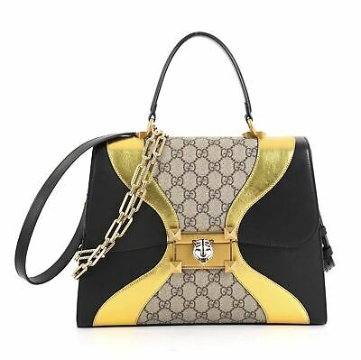 6df71b7e2 NWT GUCCI LINEA D Osiride Future Bow Top Handle Bag SOLD OUT ...