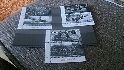 GB 2019 75th ANNIVERSARY OF D-DAY LANDINGS SET 6 MNH STAMPS C1 ON TABS 6JUNE