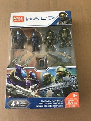 Mega Construx HALO SPARTAN-IV TEAM BATTLE Set Athlon Vector Elite 107 PCS GCM37