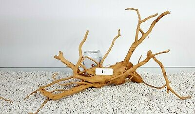 Red Moor Aquarium Wood Root Driftwood Bogwood For Fish Tank Aquascaping 46x17cm