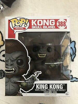 "Funko POP Movies King Kong Skull Island Bobble Action Vinyle 6/"" Deluxe Figure"