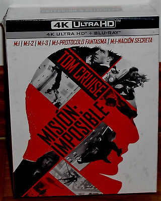 Collection Mission Impossible 4K Ultra HD + Blu-Ray 10 Discs (New Unopened) R2
