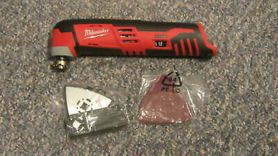 Milwaukee 2426-20 12V 12 Volt M12 Cordless Multi Tool With Accessories In Box