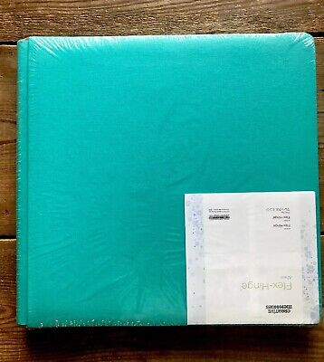 Creative Memories 12X12 Scrapbook Coverset Album Teal Blue Aqua
