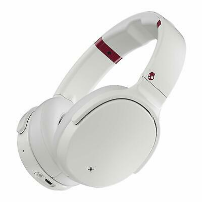 Skullcandy Venue Active Noise Cancelling Headphones, Over The Ear Bluetooth-Whit