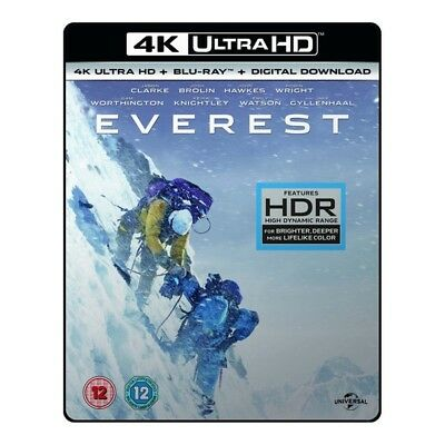 Everest 4K UHD Blu Ray NEW Sealed Jake Gyllenhaal, Josh Brolin