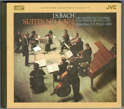 J S BACH:Suites No 1&2 For Orchestra-Paillard Chamber-XRCD/XRCD24-JAPAN-MINT-OOP