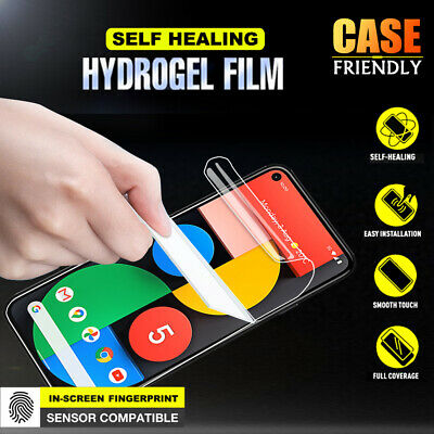 Google Pixel 3A & Pixel 3A XL SupRShield HYDROGEL Full Cover Screen Protector