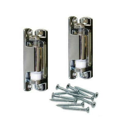 2x Refrigerator Hinges Coolroom Hinge Spring Loaded Fridge Door Right w/Screws