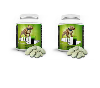 2 x BULLY MAX DOG VITAMIN MINERAL SUPPLEMENT - 60 TABLETS - OFFICIAL UK DEALER
