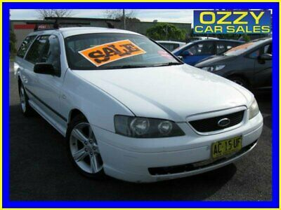 2005 Ford Falcon BA MkII XT White Automatic 4sp A Wagon