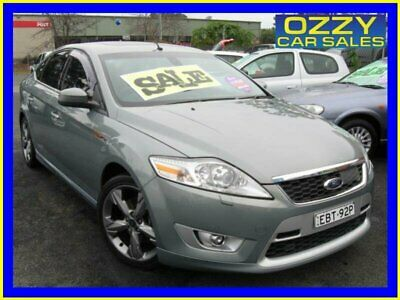 2010 Ford Mondeo MB XR5 Turbo Silver Manual 6sp M Hatchback