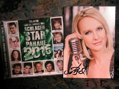 Tolle CD - Schlager Starparade 2015 - ovp + Autogramm