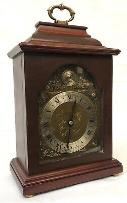 Lovely Elliott London Garrard Mantel Bracket Clock With Brass Dial