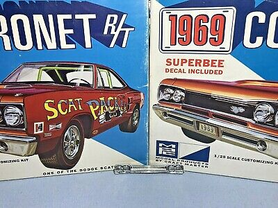MONOGRAM 1969 DODGE 440 Six Pack Super Bee Coronet 1/24 Model Car