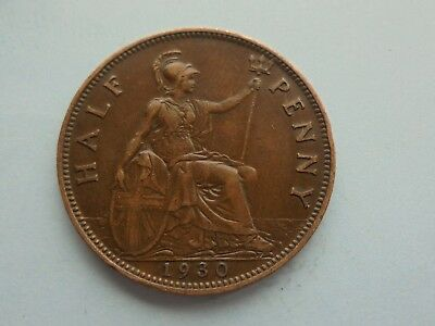 George V. Halfpenny 1930, Great Condition
