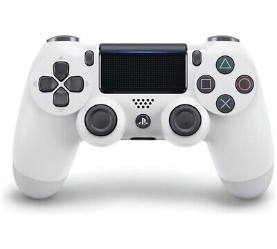 Dual Shock 4 Wireless Controller Ps4 Bianco Sony V2 #17781