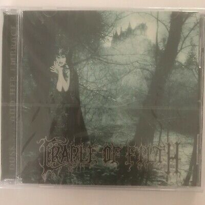 Cradle of filth dusk and her embrace cd 9 titres neuf sous blister