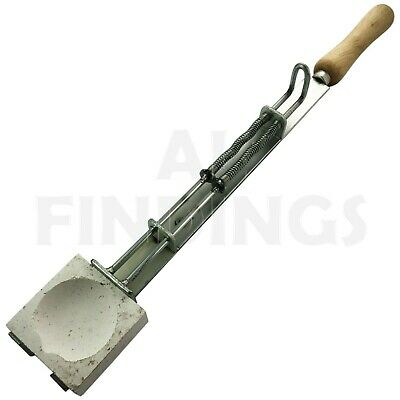 Heavy Duty Crucible Tongs Square Dish Holder Jewellery Casting Sprung Loaded