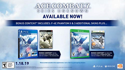 Ps4 Simulation-Ace Combat 7: Skies Unknown (Us Import) Ps4 New