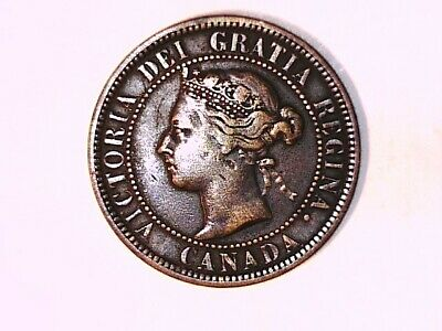 CANADA 1888 Large cent Victoria Choice about UNC