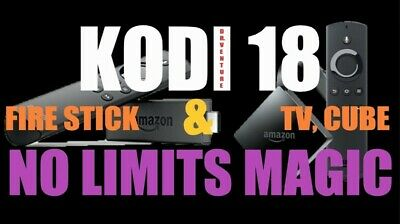 Fire TV Stick 4K 3rd Gen. w/ Alexa Voice Remote  + K0di 18.1 and Other Apps
