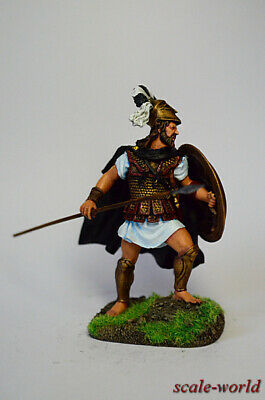 tin soldier, figure. Leonid I king of Sparta 54 mm
