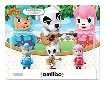 Amiibo Animal Crossing: 3-Pack Series (Toyt) (Us Import) Game New