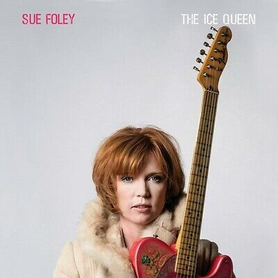 Sue Foley CD The Ice Queen (2018) Billy F Gibbons  Jimmie Vaughan * Blues Rock