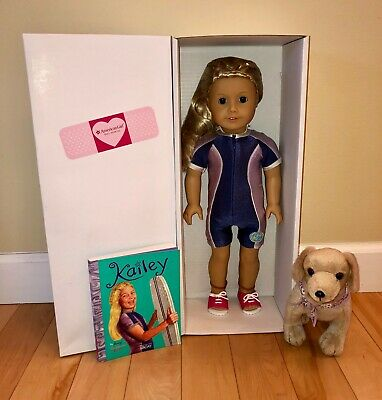 American Girl Doll of the Year 2003 KAILEY - NEW HEAD, BODY from AG Hospital Dog