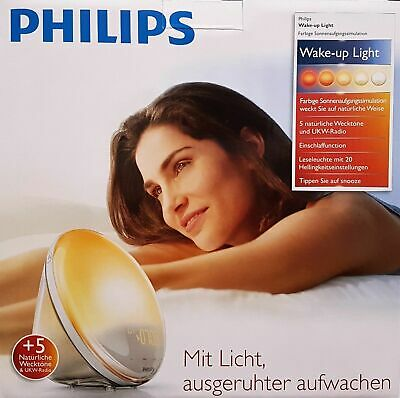 Red Philips Hf352001 Fonction Lumière Led Lampe Eveil Avec 8PZX0nwNOk