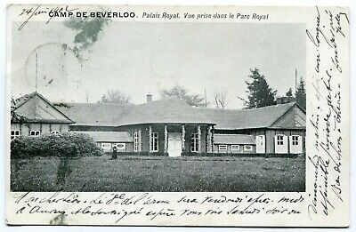 CPA - Carte Postale - Belgique - Camp de Beverloo - Palais Royal