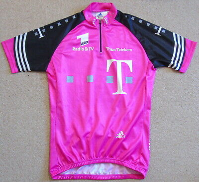 """Excellent Condition Team Telekom Pro Team Jersey. Adidas 40"""" Circumference"""
