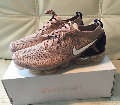 newest collection 01673 c3ec7 Nike Men's Air Vapormax Flyknit 2 Diffused Taupe Phantom Size 11 942842 201