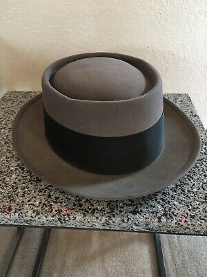 af716a3f2 VINTAGE GRAY ROYAL Deluxe Stetson Hat With Black Band - $99.99 ...