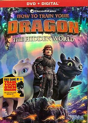 How To Train Your Dragon 3: Hidden World (DVD, 2019) Brand New! Unopened!