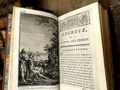 1768 ON THE NATURE OF THINGS by Lucretius - Epicurean Philosophy