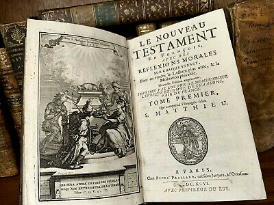 1696 THE HOLY BIBLE New Testament