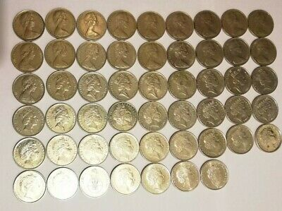 Australian 10 Cent Coin collection 1966 - 2019 (incl. New Effigy) - (52 Coins)