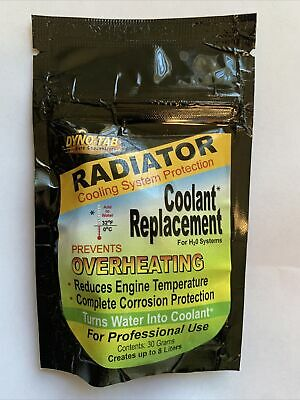 Dyno-tab® Radiator Coolant Replacement for Vehicles with water based systems.