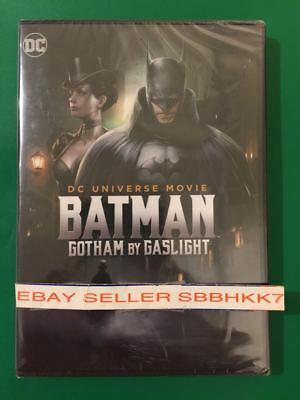 Batman: Gotham by Gaslight (DVD 2018) AUTHENTIC Brand New Free Shipping