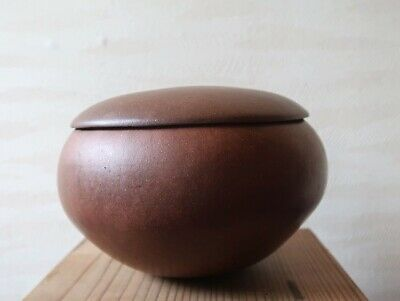 Very Rare Chinese 17Th 18Th Yixing Zisha Box And Cover Qing Dynasty