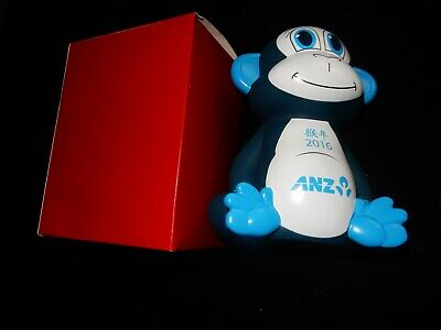 2016 ANZ Year of the Monkey Money Box NIB