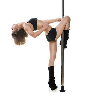 Klarfit Mandalay Kit de Pole Dance Ø 5cm 2,20m-2,60m - acier chromé