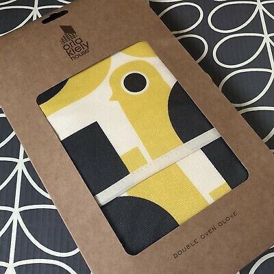 ORLA KIELY Hen Chicken Double Oven Glove ~ NEW in Packet