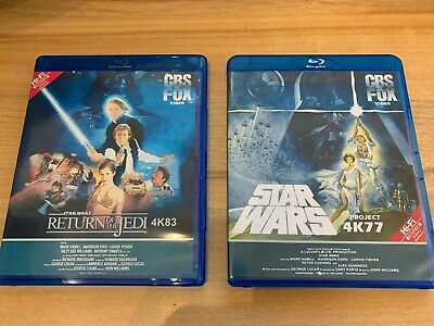 Star Wars 4K77 & 4K83 1080p with DNR Bluray and Star Wars Holiday Special.