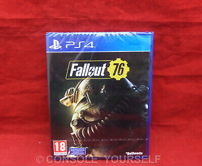 Fallout 76 - Brand New Sealed - Playstation 4 Ps4 - Uk