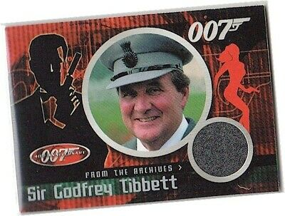 James Bond 40th Anniversary - CC3 Patrick Macnee - Sir Godfrey Costume Card 2002