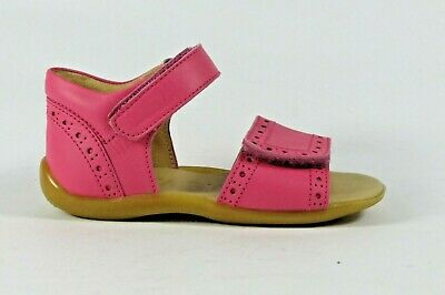 Petasil Tessa pink leather sandal with closed heel and adjustable toe strap EU23